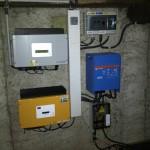 Onduleur + protection électrique