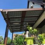 Pergola photovoltaïque