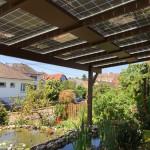 Pergola photovoltaïque - Autoconsommation