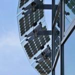 Brise soleil photovoltaïque